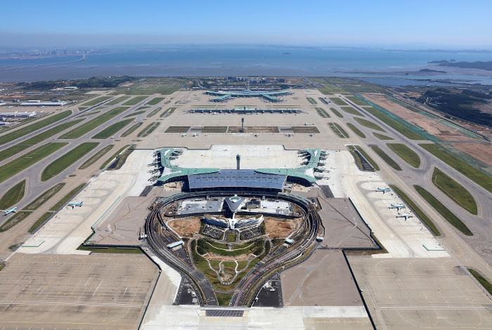 Le nouveau terminal 2 de Seoul Incheon, inauguré en 2018, est réservé aux membres de Skyteam, Korean Air et Air France en tête © Seoul Incheon