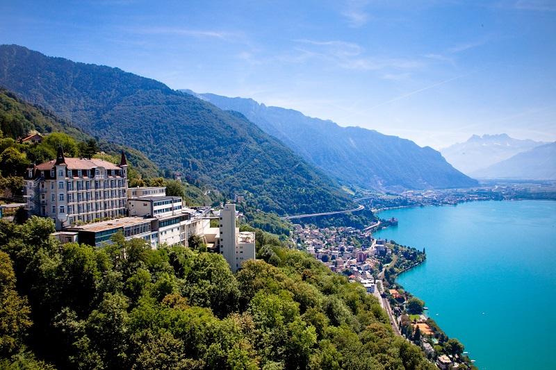 La prestigieuse école de management hôtelier suisse Glion proposera trois nouveaux programmes de master à la rentrée 2019 - DR : Glion
