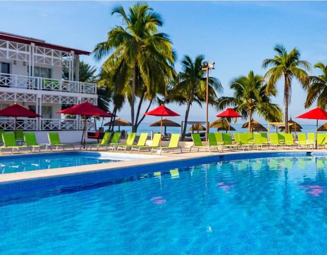 Tous les départs jusqu'au 15 mars 2019 vers le Club Coralia Royal Decameron Haïti 4* sont annulés - DR : Club Coralia
