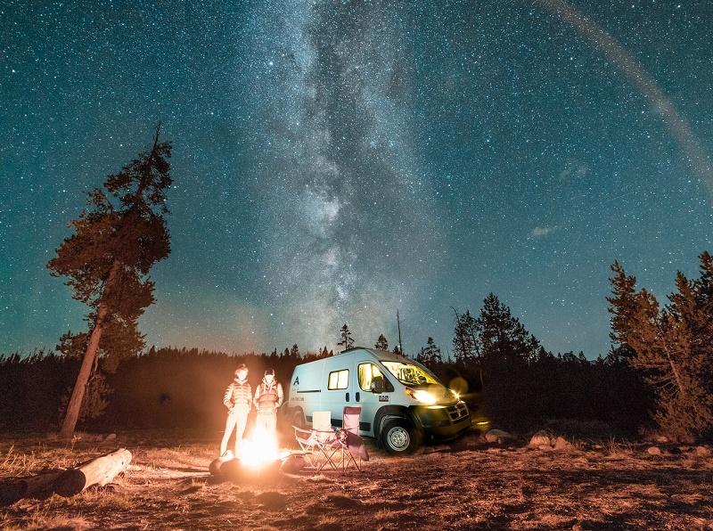 Toundra Voyages parie sur les roadtrips en van aménagé pour l'été 2019 - DR : Toundra Voyages