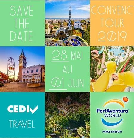 Changement de dates pour le Convenctour du CEDIV qui aura lieu du 28 mai au 1er juin 2019 - DR