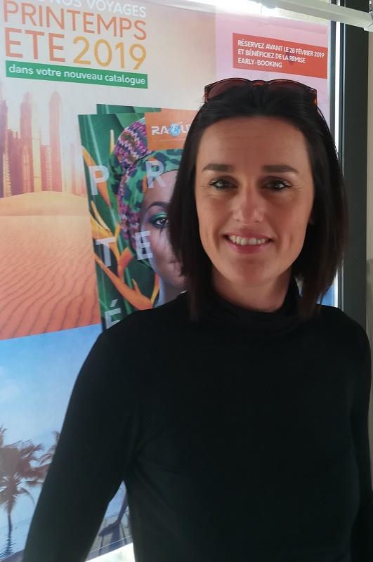 Laetitia Dumas, responsable des ventes de Raoux, Jaccon et Fayard - DR : Galeo Travel