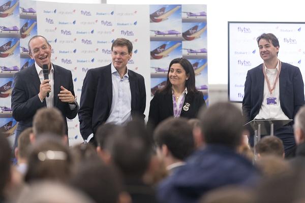 Depuis ce vendredi 22 février 2019, Flybe a de nouveaux propriétaires et les 2 500 employés de la compagnie voient leurs emplois sauvés - DR : Flybe