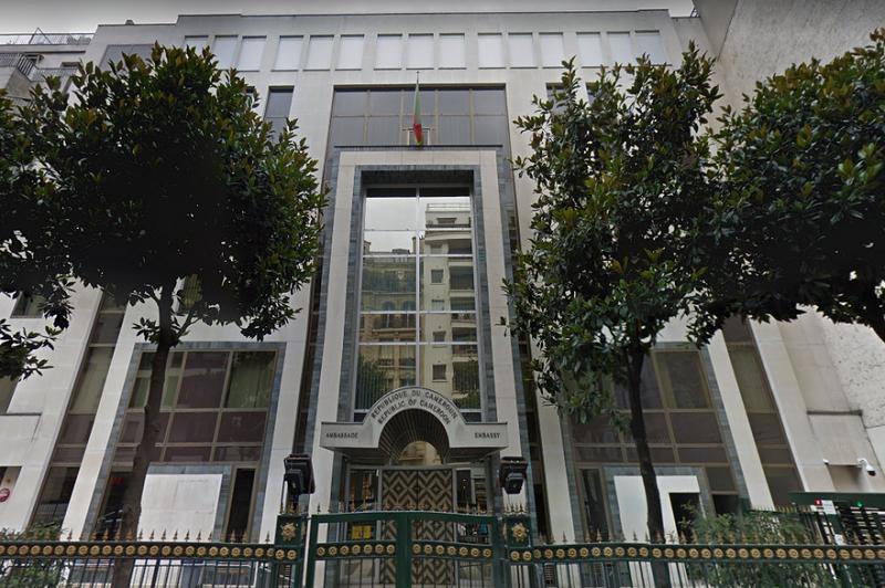 L'ambassade du Cameroun à Paris reprend ses activités - DR