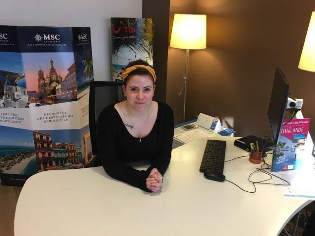 Enora Stephan, conseillère de l'agence de Morlaix - DR