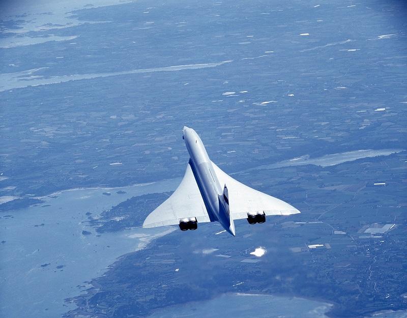 On l'appelle « l'oiseau blanc ». Son élégante silhouette vole à Mach 2,02, deux fois la vitesse du son - DR : Collection Musée Air France