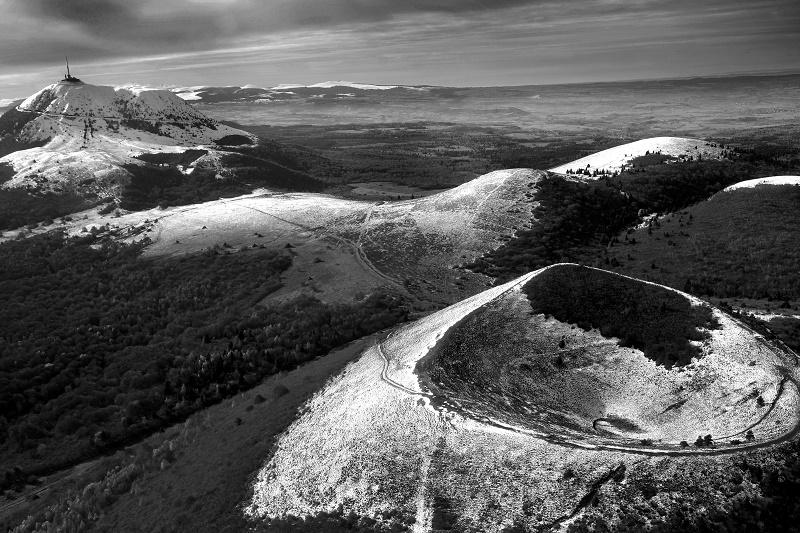 Auvergne Destination Volcans rassemble sous une même bannière deux départements auvergnats, Puy-de-Dôme et Cantal - Photo Pascal Chareyron