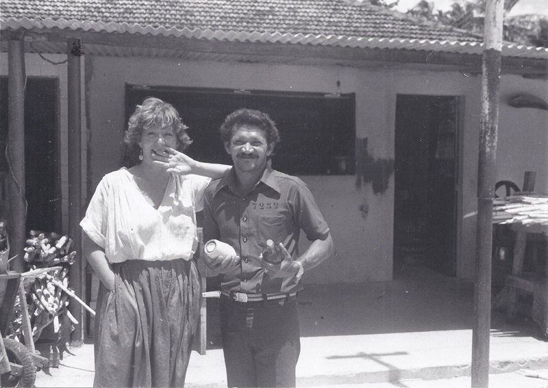 A la fin des années 60, Michèle Sani sillonne la Tunisie, au volant de sa 4L. Une expérience qui lui permettra de décrocher son premier job chez Tunisie Contact - DR : M.S.