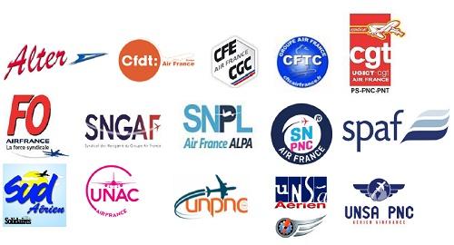L'intersyndicale Air France réagit à la montée au capital de l'Etat Hollandais - DR