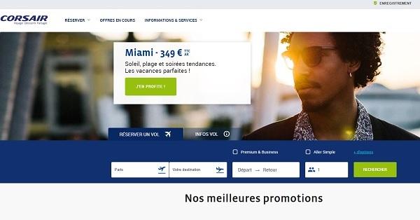 Challenge des ventes : Corsair fait gagner 19 places pour un éductour à Miami - Crédit photo : Corsair