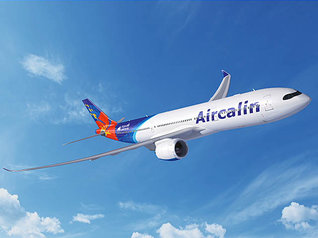 Le futur A330neo d'Aircalin devrait entrer en service d'ici la fin de l'année 2019 ©Aircalin