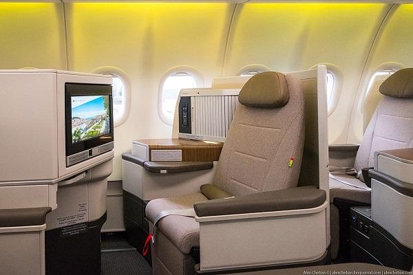 TAP Air Portugal : utilisez des miles pour voyager en classe affaires - Crédit photo : TAP Air Portugal