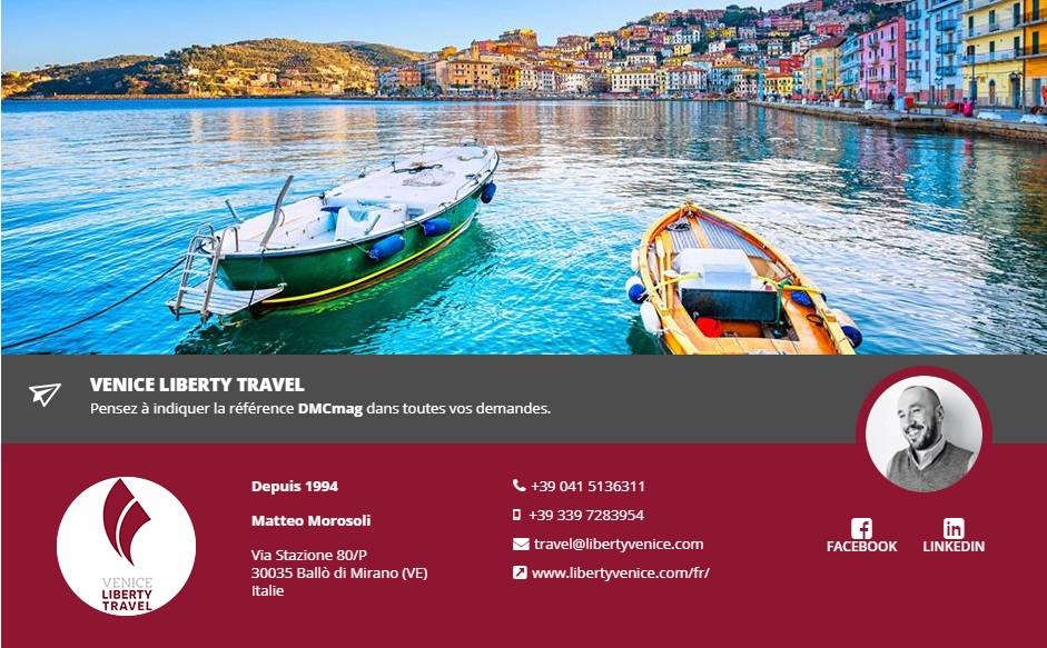 Venice Liberty Travel rejoint DMCMag.com - DR