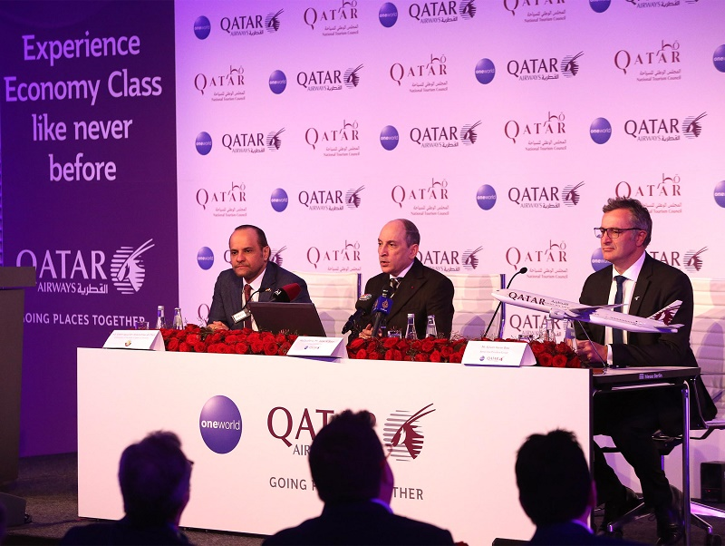 Qatar Airways va desservir 7 nouvelles destinations au départ de Doha : Lisbonne, Malte, Rabat, Langkawi, Davao, Izmir et Mogadiscio - DR : Qatar Airways