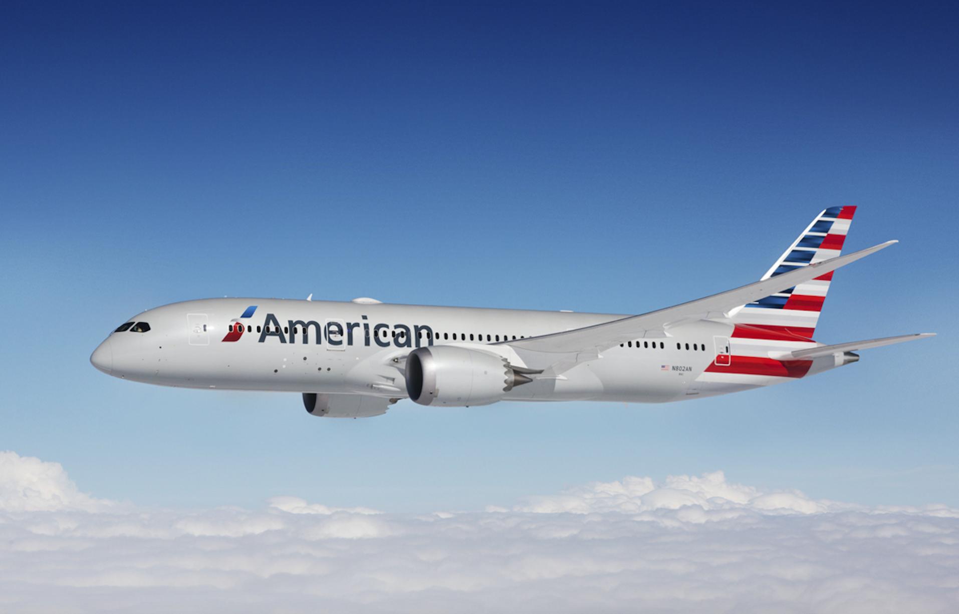 American Airlines est la première des trois grandes compagnies aériennes américaines © AA