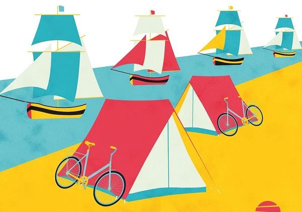 Armada de Rouen ouvrira le 1er camping flottant de France - Crédit photo : Armada de Rouen