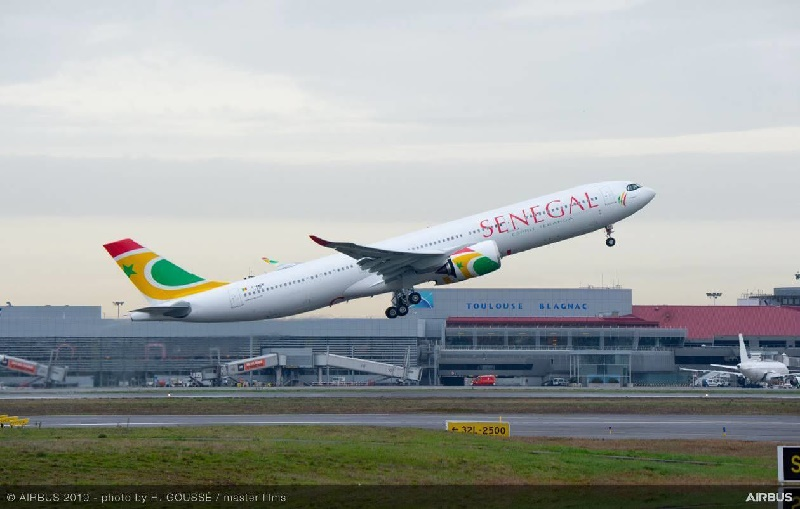 L'A330neo d'Air Sénégal - DR