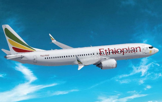 La décision de l'Agence Européenne de Sécurité Aérienne aura un impact certain sur le programme des vols des compagnies aériennes ayant une flotte de Boeing 737 MAX, et donc des modifications d'horaires, voire des annulations de vols - DR : Ethiopian Airlines