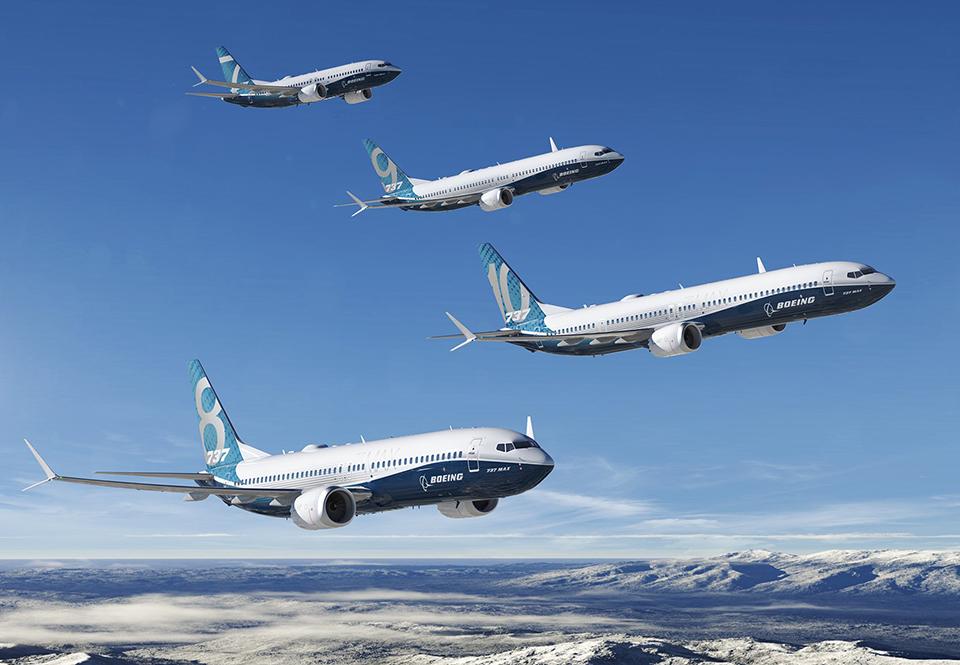"""Mourad Majoul  : """"Pour l'instant la FAA n'a pas ordonné l'immobilisation des Boeing 737 MAX. Mais si elle venait à interdire de vol ces appareils, cela pourrait concerner près de 300 appareils. Il serait alors impossible de les remplacer du jour au lendemain"""" - Photo Boeing DR"""