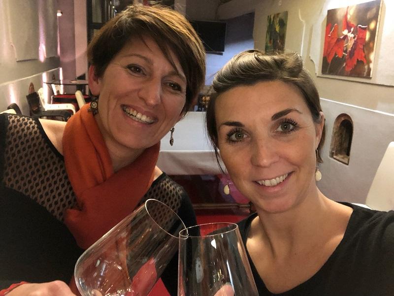 Valérie Guirao et Marine Desrumaux - DR