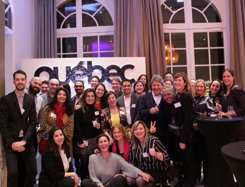 La délégation québécoise et ses partenaires - DR : Destination Québec