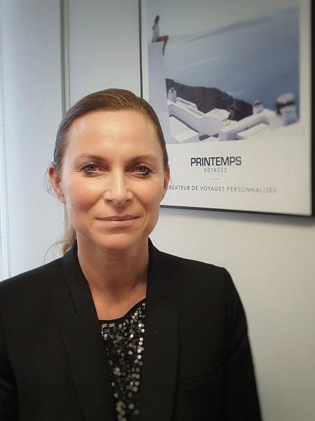 Angélique Quehen, directrice générale de Printemps Voyages. – DR Printemps Voyages