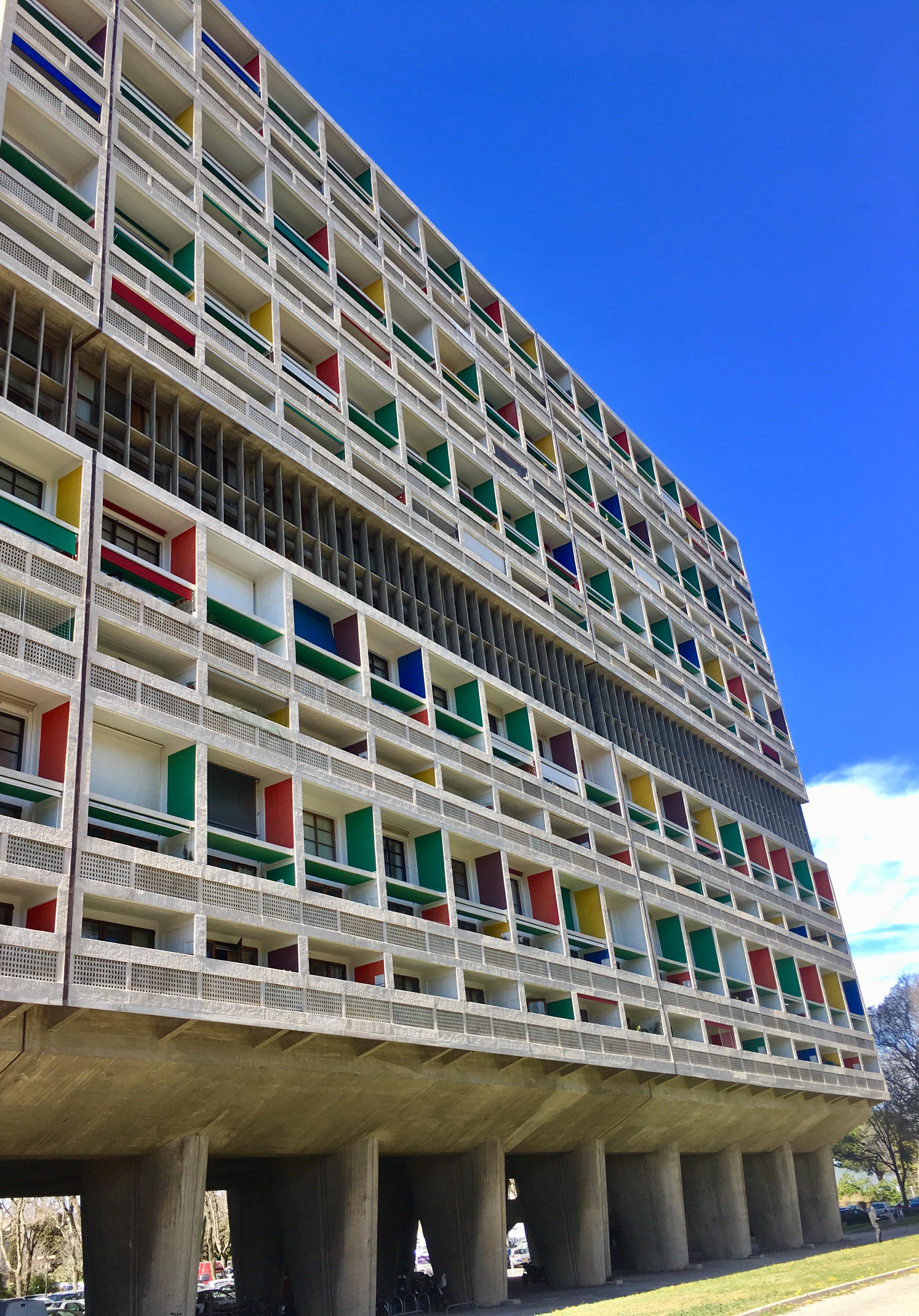 Les participants ont visité la Cité Radieuse © LM
