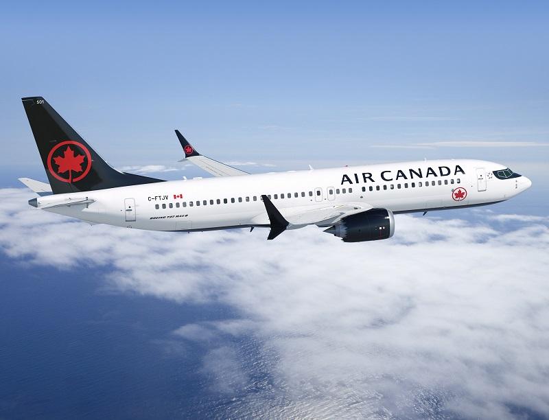 Air Canada a rajusté son horaire jusqu'au 30 avril, mais compte retirer ce type d'appareil de son horaire au moins jusqu'au 1er juillet 2019 - DR : Air Canada