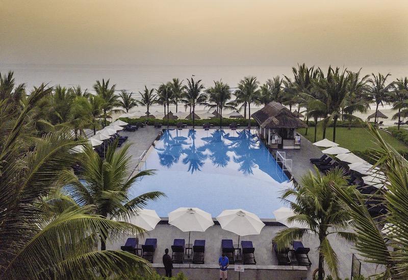 Le tout nouveau Kappa Club Melia Vietnam 4* est située sur la plage de Non Nuoc, dans la région centre du Vietnam © Kappa Club