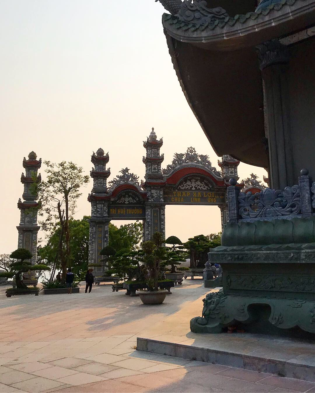 Sur la péninsule de Son Trà, un ensemble touristique de temples et de pagodes © PG Tourmag
