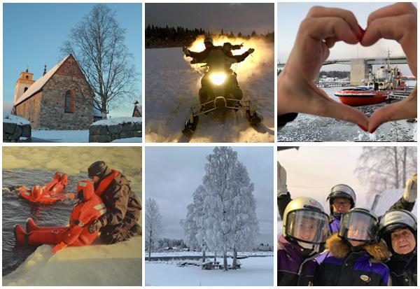 La convention des EDV Ile-de-France se déroulera du 22 au 25 mars 2019 en Laponie suédoise - Photo EDV