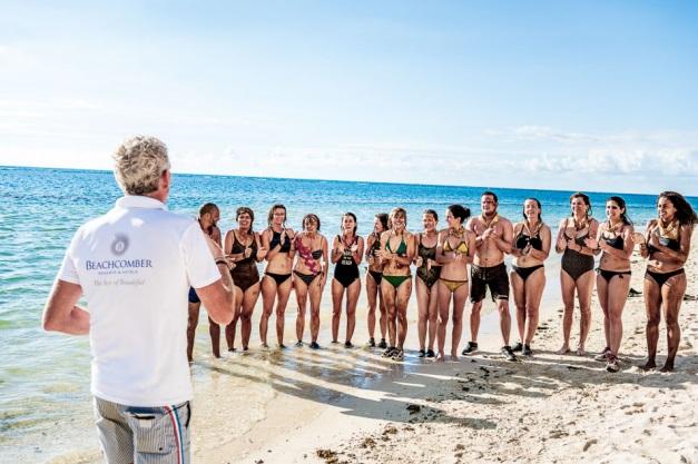 Denis Brogniart a une nouvelle fois animé la Beachcomber Aventure organisée à L'Ile Maurice - DR Beachcomber