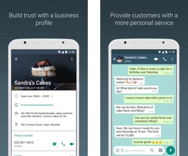 Whatsapp Business : une application pour automatiser les échanges avec ses clients - crédit photo : Whatsapp Business