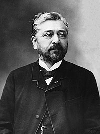 Gustave Eiffel photographié par Nadar - DR