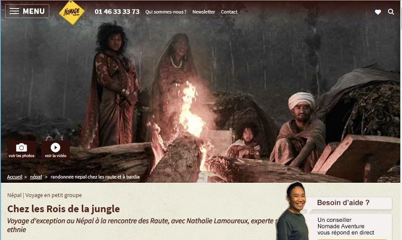 """Nomade Aventure étoffe sa gamme """"voyages d'exception"""" et va au contact d'un des derniers peuples nomades du Népal -DR : Nomade Aventure"""