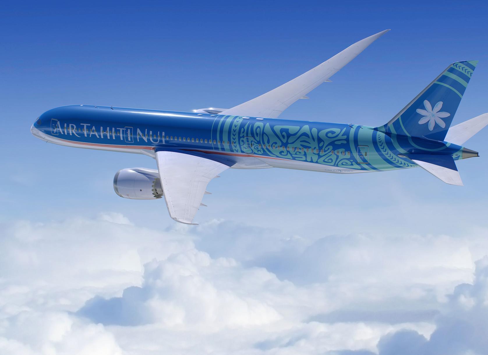 L'appareil, baptisé Fakarava en référence à l'archipel des Tuamotu, est configuré en tri-classe et renouvelle du tout au tout l'expérience client © ATN