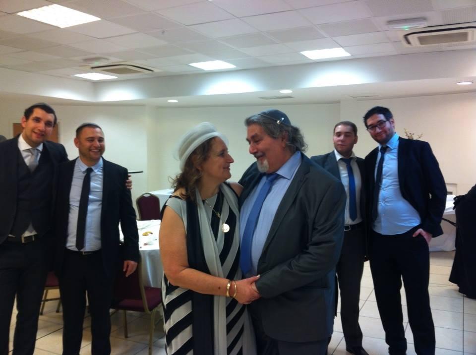 Alain Dreymann avec son épouse et ses enfants - DR : Facebook