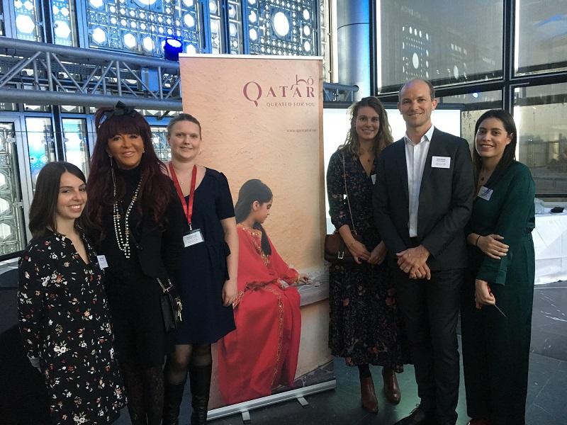 Les équipes du bureau de représentation français, avec Jennifer Beggs (2e à gauche), directrice marketing et communication du National Tourism Council - C.L.