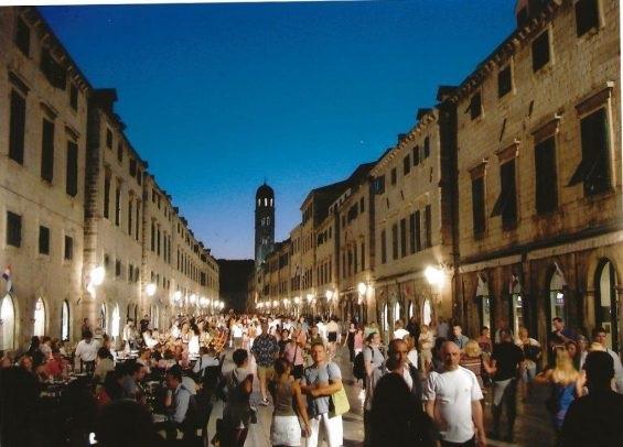 Foule à Dubrovnik@LaurenceCoste