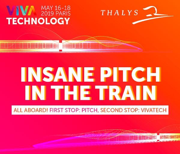 VivaTech : Thalys intivera des start-up à picther à 300km/h - Crédit photo : VivaTech