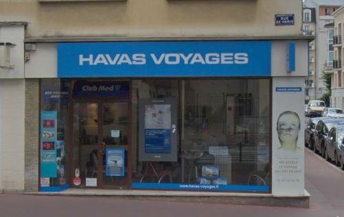 Havas Voyages/ Salaün Holidays - 111 rue de Paris Charenton le Pont - DR