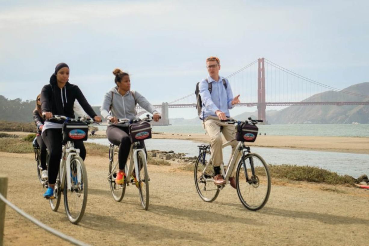 Visite guidée à vélo © Voyage en Français