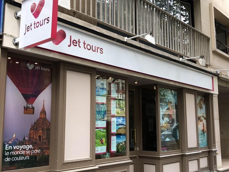 Le réseau franchisés compte  249 agences de voyages enseignes dont 171 Thomas Cook et 78 Jet tours - DR