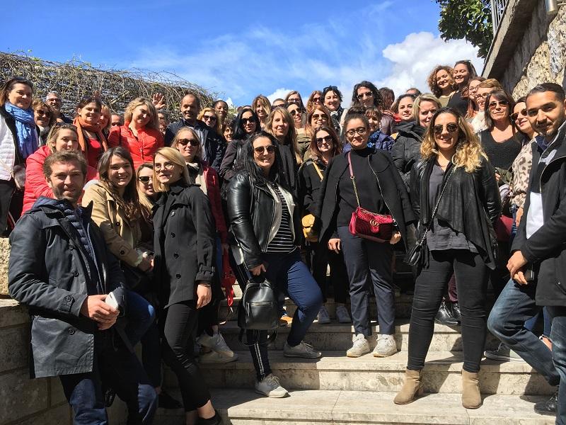 180 agents de voyages ont découvert Dubrovnik et le Naya Club Osmine 4 étoiles du tour-opérateur lors d'un éductour, les 10 et 11 avril 2019. A gauche, Aurélien Aufort, directeur général du TO. - CL