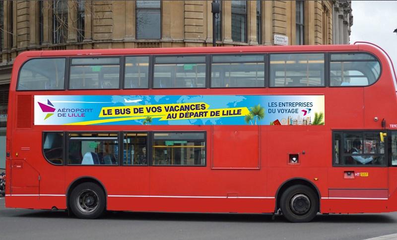 """""""Le Bus de Vos Vacances"""" sera dans 7 villes des Hauts-de-France du 20 au 27 avril 2019 - DR"""
