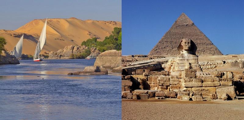 Combiné Splendeurs du Nil et du Caire - DR