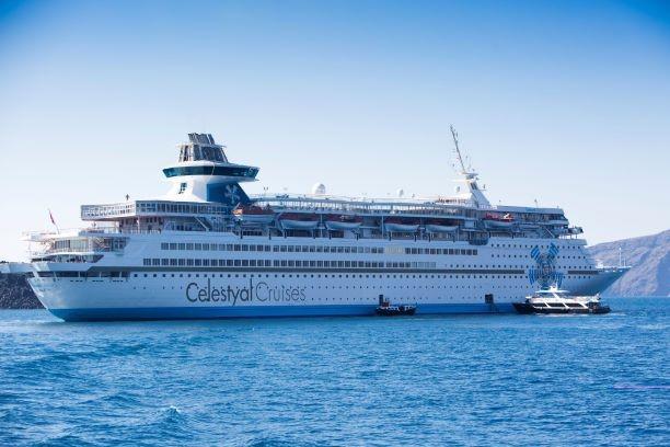 Le Celestyal Olympia pour aborder les îles grecques. Collection Celestyal Cruises.