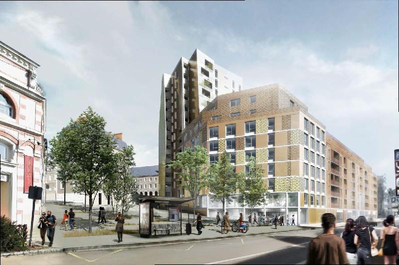 Le Groupe Odalys ouvre une résidence urbaine au Mans - Photo Odalys