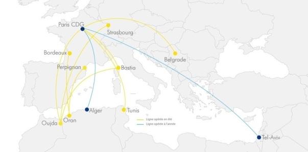 ASL Airlines France desservira dix lignes régulières pendant la saison été 2019 dont deux nouvelles lignes - DR