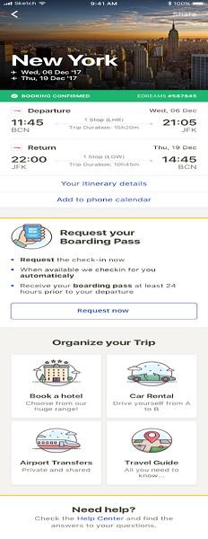 eDreams ODIGEO lance l'enregistrement automatique sur ses applis mobiles